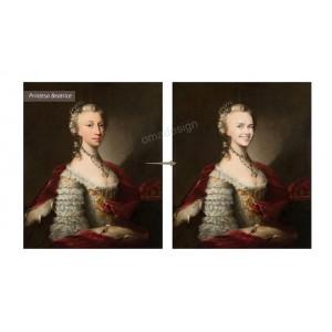 Tablou personalizat - Printesa Beatrice
