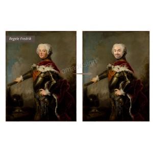 Tablou personalizat - Regele Fredrik