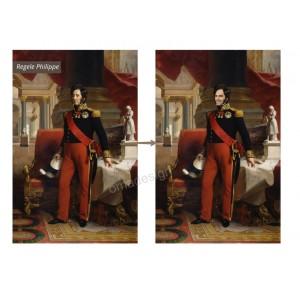 Tablou personalizat - Regele Philippe