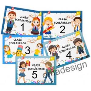 *Eticheta clasa mascota (scolarei)