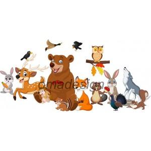 Set 25 Animale Toamna
