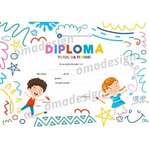 *Diplomă școlară - Totul va fi bine! - 05