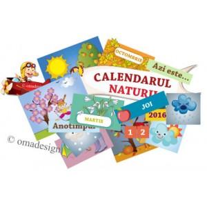 *Set 60 Jetoane magnetice (Calendarul naturii) *L