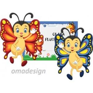 Set Mascote Fluturasi