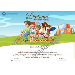 Diplomă Școala Altfel 06