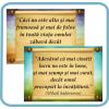 Set 4 Postere Carte/Învățătură